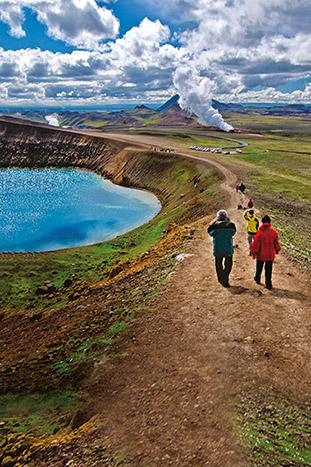 Backroads Northern Iceland Family Walking & Hiking Tour
