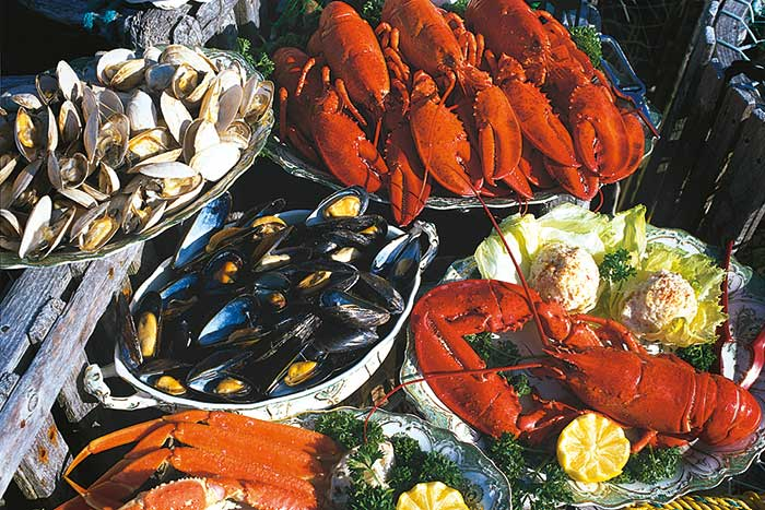 Sea food - Backroads Nova Scotia Walking & Hiking Tours