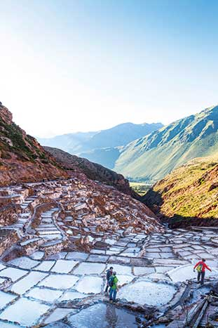 Salt - Peru walking and hiking tour