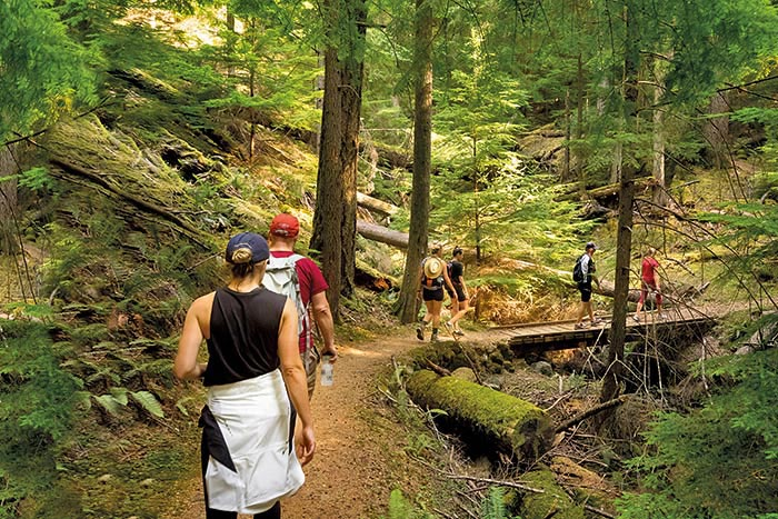 Pacific Northwest Family Walking & Hiking Tour