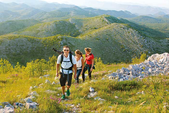 Hiking on Slovenia and Croatia Family Walking and Hiking Tour