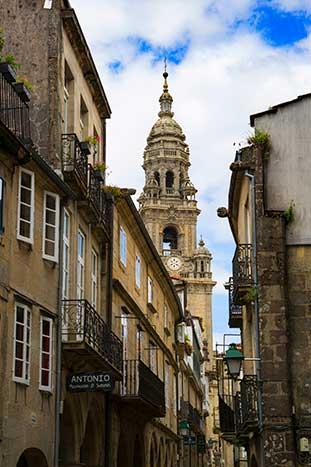 Santiago de Compostela, Camino de Santiago Walking & Hiking Tour