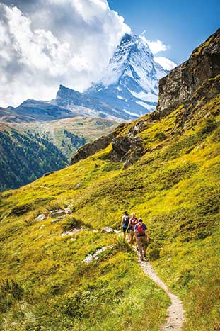 Switzerland hiking tours