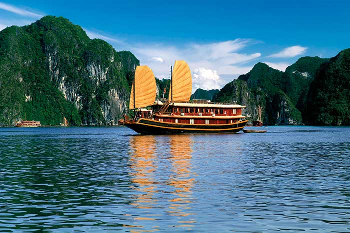 Halong Bay - Backroads Vietnam & Cambodia Walking Tour