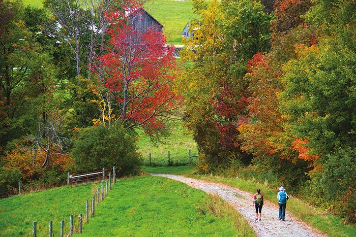 Vermont hiking tours