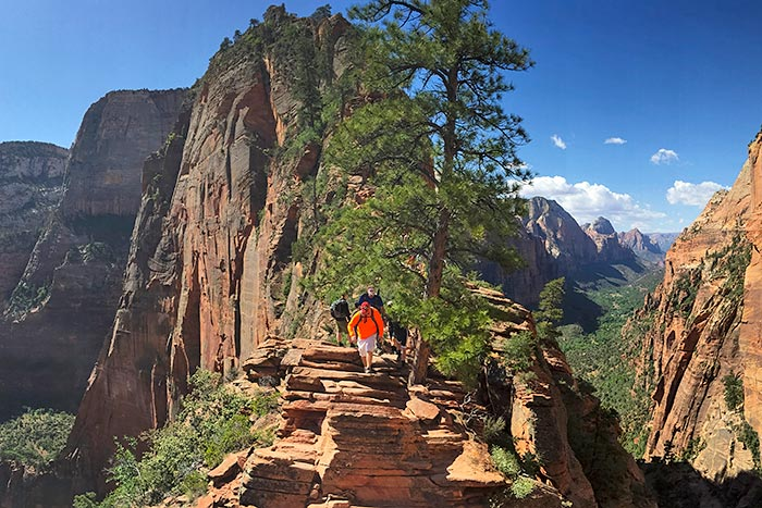 Angel's Landing Hike, Zion National Park, Utah