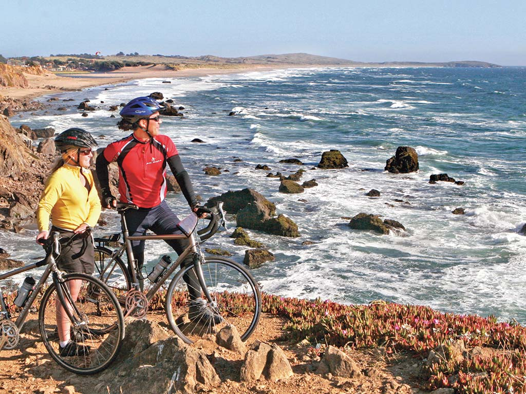 California Coast Bike Tour Big Sur Coast Carmel To Santa Barbara