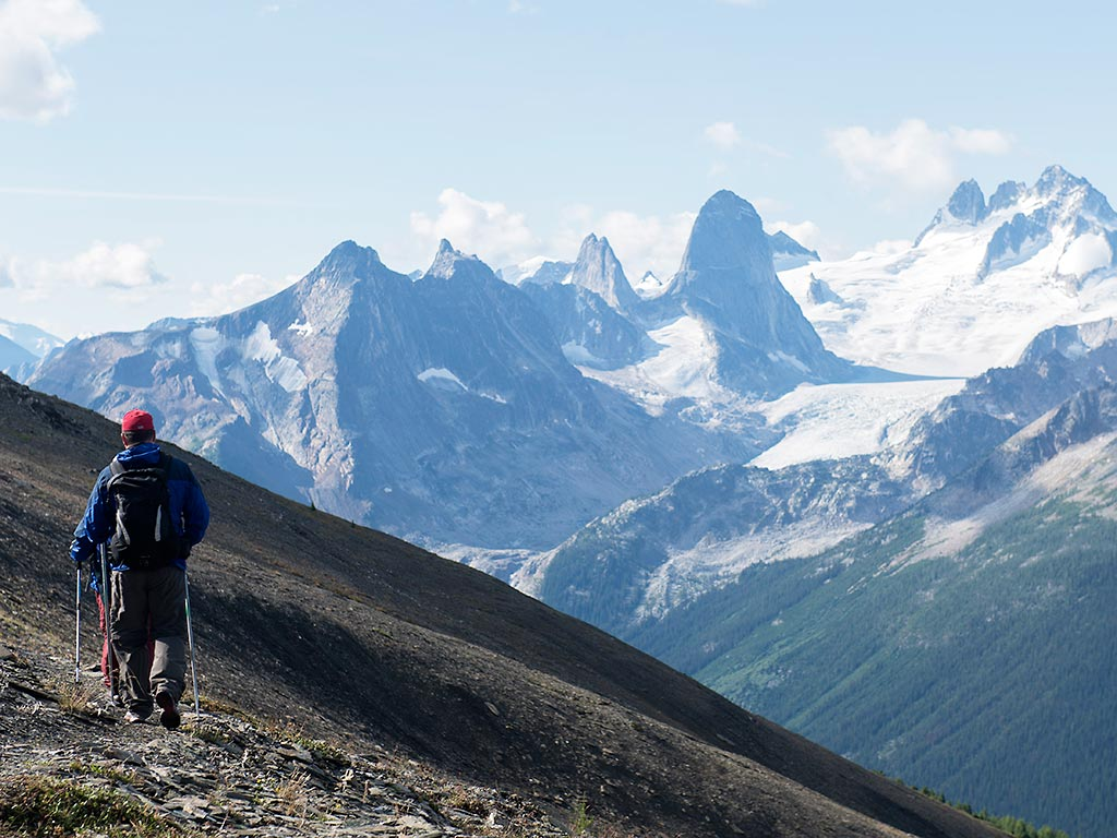 Helicopter Hiking Canadian Rockies