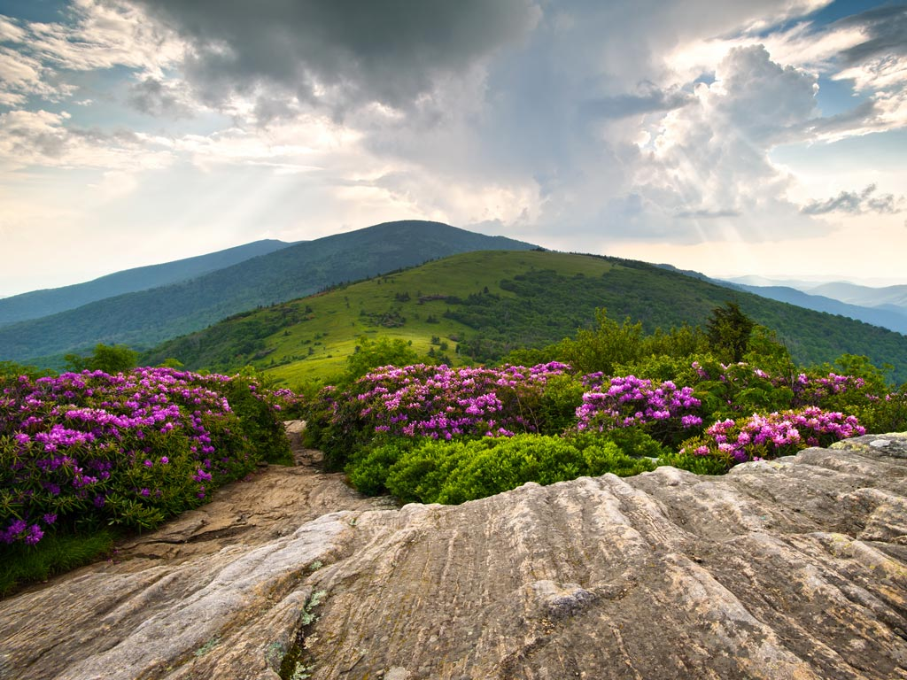Carolinas Blue Ridge Hiking Trip