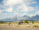 Biking - Yellowstone & Tetons Family Multi-Adventure Camping Tour