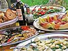 Italian food - Amalfi Coast, Italy