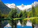 Lake - Backroads Canadian Rockies Family Heli-Hiking Tours