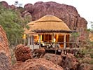 Mowani Mountain Camp - Backroads Namibia & Zimbabwe Family Safari Walking Tour