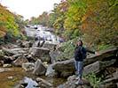 Hiking by Waterfalls - Blue Ridge Mountains Walking & Hiking Tour