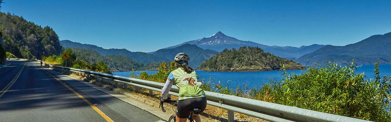 Chile Lake & Volcano District Bike Tour