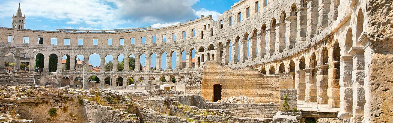 Roman amphitheatre - Backroads Slovenia and Croatia Bike Tour