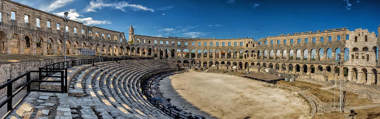 Roman Amphitheatre - Slovenia & Croatia Family Bike Tour