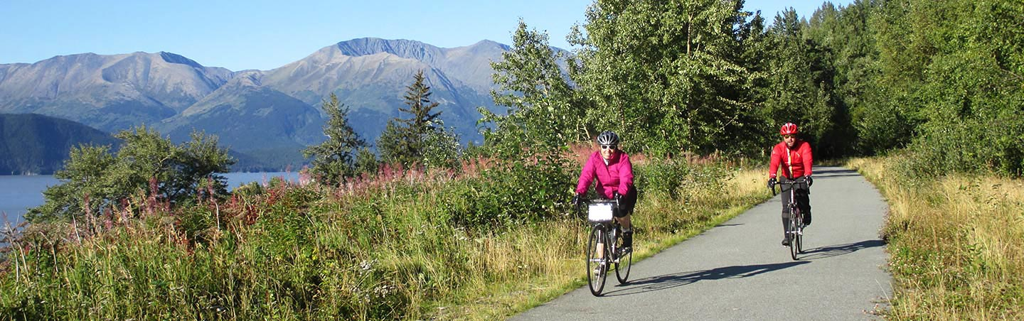 Biking on Alaska Family Multi-Adventure Tour
