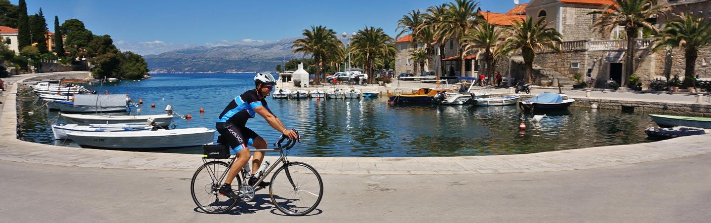 Biking on Dalmatian Coast Family Multisport Adventure Tours