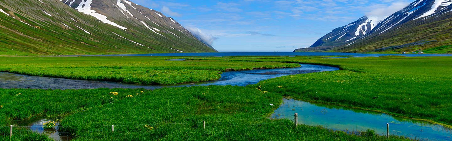 Fjord in Northern Iceland - Iceland Family Multi-Adventure Tour