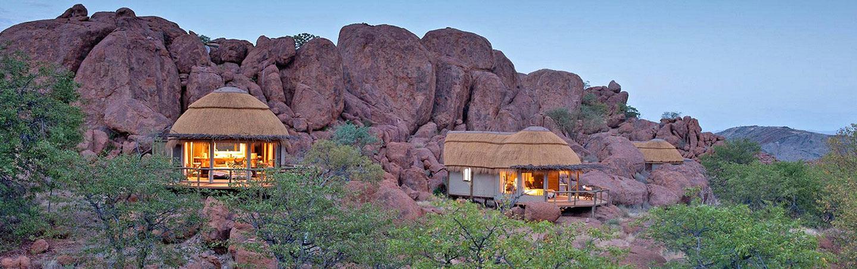 Mowani Mountain Camp - Namibia & Zimbabwe Family Safari Walking Tour