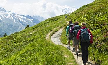 Italian, French & Swiss Alps Hut-to-Hut Hiking Tour