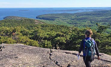 Maine walking and hiking tour