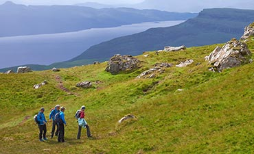 Scotland walking and hiking tour