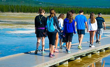Yellowstone Walking  Vacations