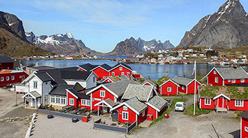 Reine Rorbuer, Lofoten Islands, Norway