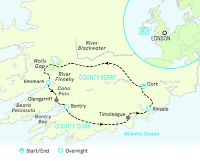 Ireland Family Bike Tours Cork Kerry Older Teens 20s