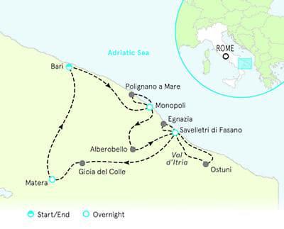 Puglia To Basilicata Bike Tours Puglia Biking Backroads