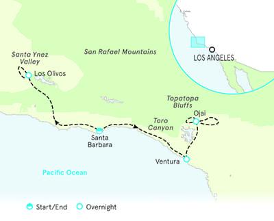 Santa Barbara and Ojai