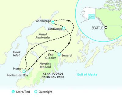 Alaska Multisport Map
