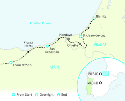 Basque Country Family Multisport Map