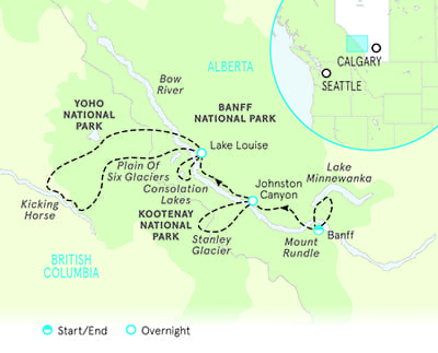 Canadian Rockies Multisport Map