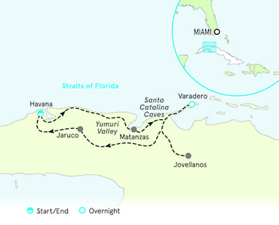 Cuba Multisport Family Breakaway Map