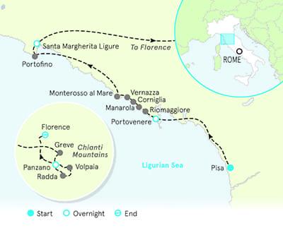 Corniglia Italy Map.Cinque Terre Tours Hiking Tours Cinque Terre Italy Backroads