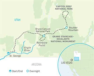 Bryce Utah Map