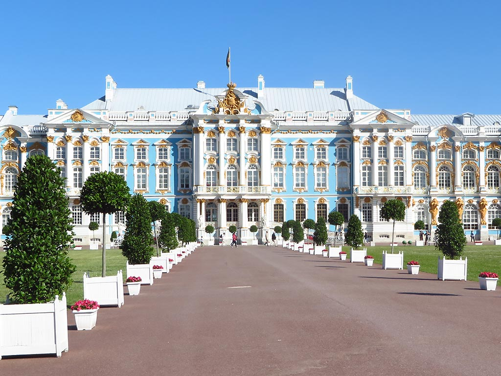 Catherine the Great's Palace - Baltic Sea Ocean Cruise Bike Tour