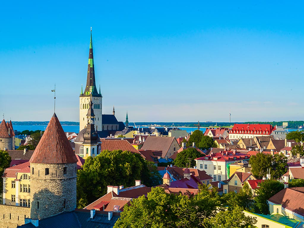 Estonia - Baltic Sea Ocean Cruise Bike Tour