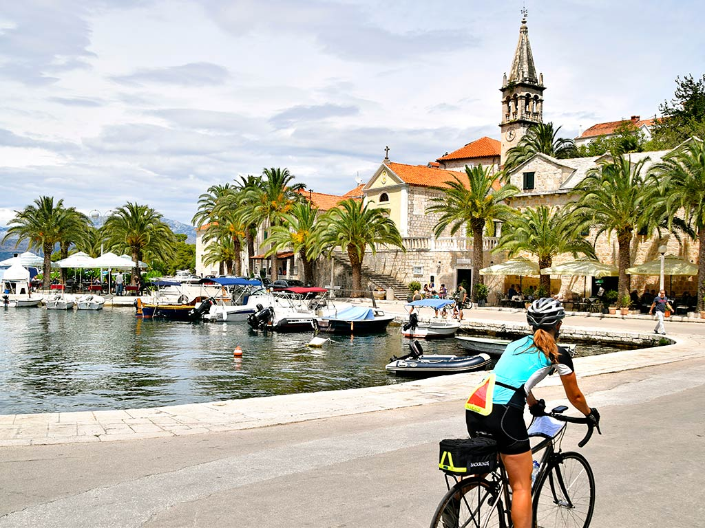 Venice to Croatia Ocean Cruise Bike Tour