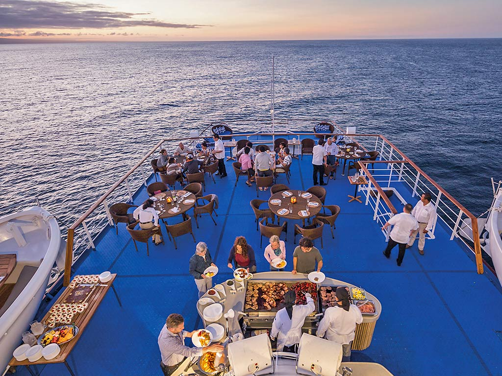 Onboard dining - Galapagos Ocean Cruise Multi-Adventure Tour