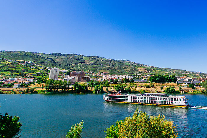 Portugal's Douro Full Ship Celebration River Cruise Bike Tour