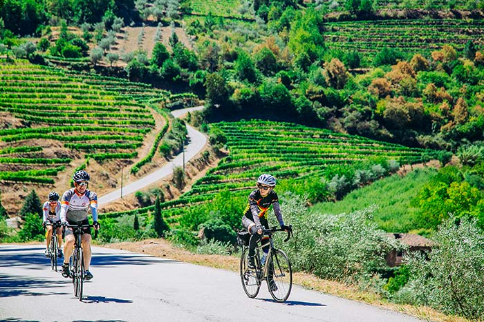 Cycling - Portugal's Douro Full Ship Celebration River Cruise Bike Tour