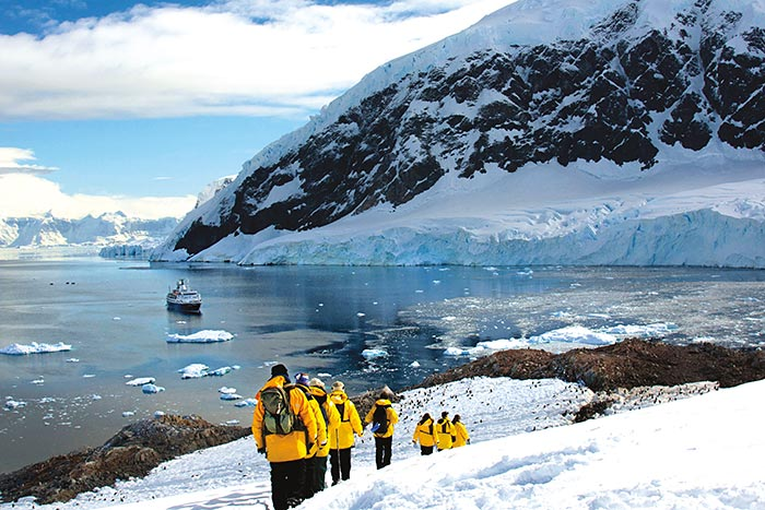 Hiking on Backroads Antarctica Ocean Cruise Multi-Adventure Tour