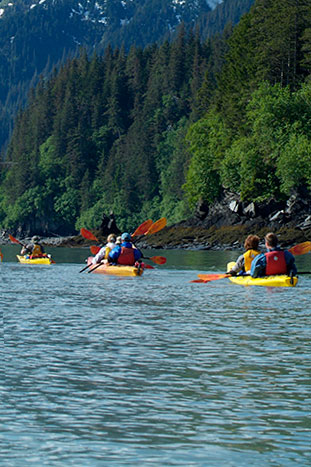 Kayaking - Alaska Ocean Cruise Multi-Adventure Tour