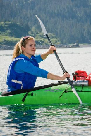 Kayaking - Alaska Ocean Cruise Family Multi-Adventure Tour