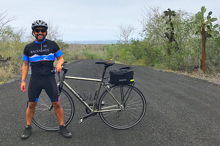 Cycling on Backroads Galápagos Ocean Cruise Family Multi-Adventure Tour