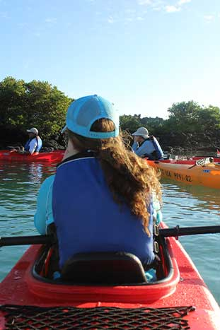Kayaking - Galápagos Ocean Cruise Family Multi-Adventure Tour